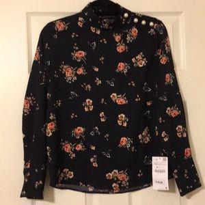 Zara Flower Blouse - XS.